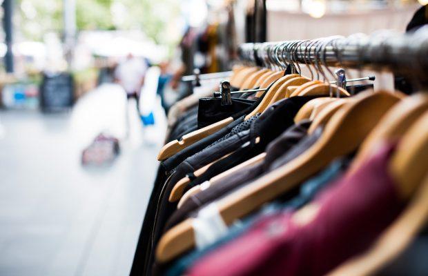 Hangers Clothing Shopping Market Jacket Rack