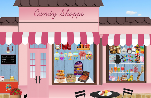 Shop Candy Sweets Confectionery Chocolate Trade