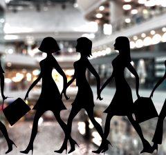 Shopping Women Shops Women Shopping